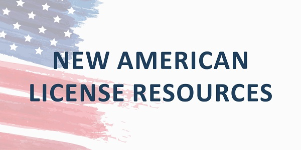 New American License Resources