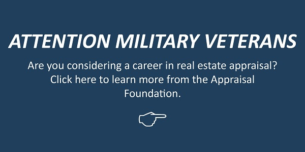 Veteran Outreach Factsheet from the Appraisal Foundation